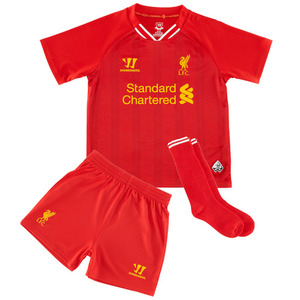 [Order] 13-14 Liverpool(LFC) Home  Little Boys Mini KIT