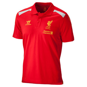 [Order] 13-14 Liverpool(LFC) Training Polo - High Risk Red
