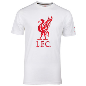 [Order] 13-14 Liverpool(LFC) Liver Bird T Shirt - White