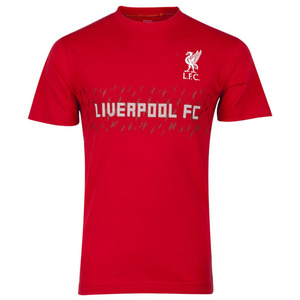 [Order] 13-14 Liverpool(LFC) Cross Hatch T-Shirt - High Risk Red