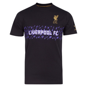 [Order] 13-14 Liverpool(LFC) Cross Hatch T-Shirt - Black
