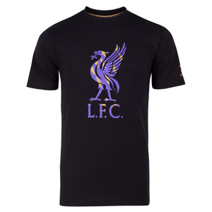 [Order] 13-14 Liverpool(LFC) Liver Bird T-Shirt - Black