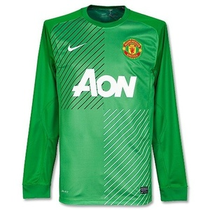 [해외][Order] 13-14 Manchester United Boys Home GK - KIDS