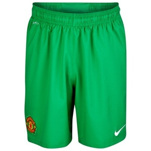 [Order] 13-14 Manchester United Boys Home GK Shorts - KIDS