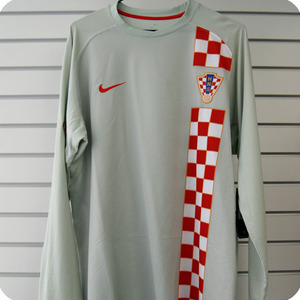 06-08 Croatia L/S - Authetic / Player Issue (Grey)