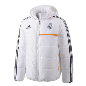 [Order] 13-14 Real Madrid Padded Jacket - White