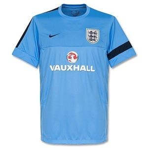 [Order] 13-14 England Training Top - Light Blue