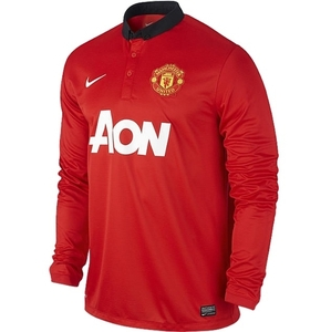 [해외][Order] 13-14 Manchester United Boys UCL(UEFA Champios League) Home L/S - KIDS