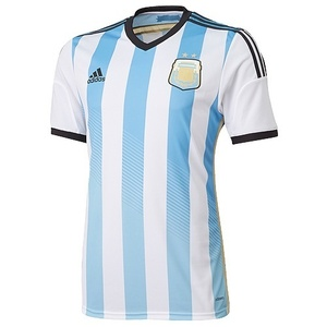 13-15 Argentina (AFA) Home +  10 MESSI + WorldCup Patch + MDT (Size:M)