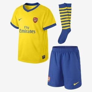 [해외][Order] 13-14 Arsenal Away Little Boys KIT