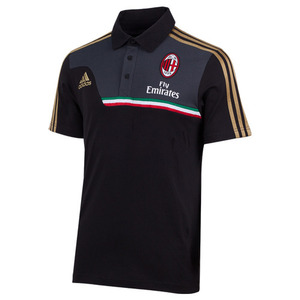 [Order] 13-14 AC Milan Training Polo Shirt - Black