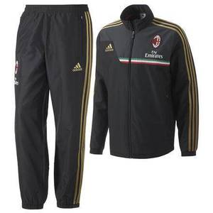 [Order] 13-14 AC Milan Presentation Suit - Black