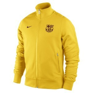 [Order] 12-13 Barcelona(FCB) Authentic N98 Jacket - Tour Yellow/Tour Yellow/Team Red