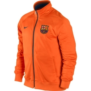 [Order] 12-13 Barcelona(FCB) Core Trainer jacket - Safety Orange/Midnight Navy