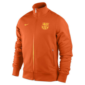 12-13 Barcelona(FCB) Authentic N98 Jacket - Safety Orange/Tour Yellow/Tour Yellow