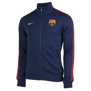 [Order] 13-14 Barcelona(FCB) Authentic N98 Boys  Jacket (Navy) - KIDS