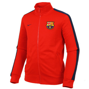 [Order] 13-14 Barcelona(FCB) Authentic N98 Boys  Jacket (Red) - KIDS
