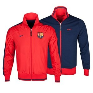 [Order] 13-14 Barcelona(FCB) Authentic Reversible Jacket - University Red/Midnight Navy Red