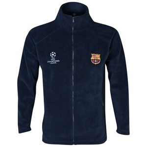 [Order] 13-14 Barcelona(FCB) UCL(UEFA Champions League) Fleece Jacket - Navy