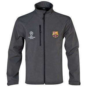 [Order] 13-14 Barcelona(FCB) UCL(UEFA Champions League) Soft Shell Jacket - Charcoal