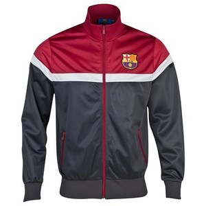 [Order] 13-14 Barcelona Essentials Cut and Sew Track Jacket - Charcoal