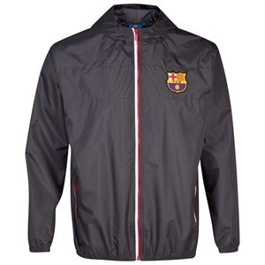 [Order] 13-14  Barcelona Essentials Shower Jacket  - Charcoal