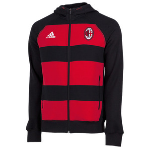[Order] 13-14 AC Milan Full Zip Hoody - Black