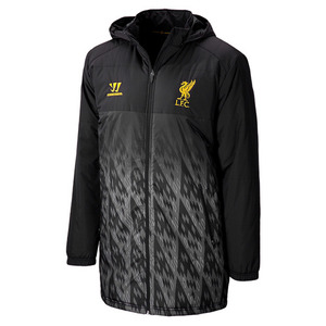 [해외][Order] 13-14 Liverpool(LFC) Boys Training Stadium Jacket (Black) -KIDS
