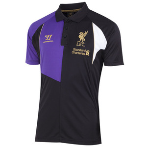 [해외][Order] 13-14 Liverpool(LFC) Third Training Polo - Black