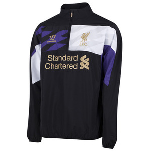 [해외][Order] 13-14 Liverpool(LFC) Third Half-Zip Training Windbreaker (Black)