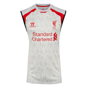 [해외][Order] 13-14 Liverpool(LFC) Training Sleeveless Vest (Grey)