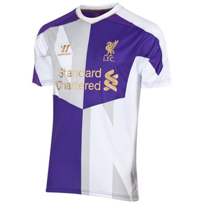 [해외][Order] 13-14 Liverpool(LFC) Third Training Jersey - White/Purple