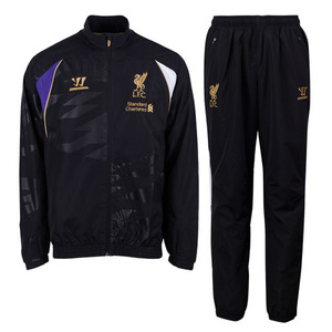 [해외][Order] 13-14 Liverpool(LFC) Third Boys Training Presentation Suit (Black) - KIDS
