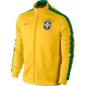 14-15 Brasil(CBF) N98 Authentic Track Jacket
