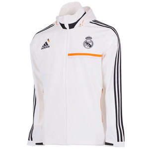 [Order] 13-14 Real Madrid Training Travel Jacket - White