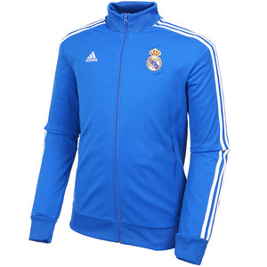 13-14 Real Madrid Core Track Top - Blue