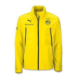 13-14 Borussia Dortmund Training Rain Jacket (Yellow)