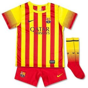 [Order] 13-14 FC Barcelona Away Little Boy Kits - KIDS