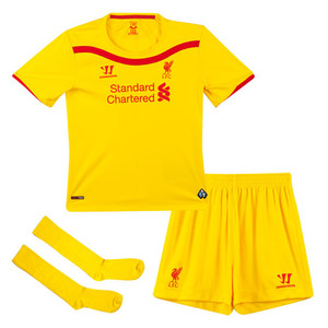 [해외][Order] 14-15 Liverpool(LFC) Away  Mini KIT - KIDS