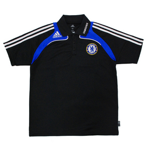 08-09 Chelsea Polo Shirt (Black)