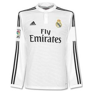 14-15 Real Madrid (RCM/레알마드리드) UCL(UEFA Champions League) Home L/S