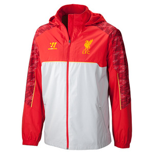 13-14 Liverpool(LFC) Rain Jacket - Red (Size:L)