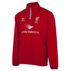 [해외][Order] 14-15 Liverpool(LFC) Half-Zip Training Windbreaker - High Risk Red