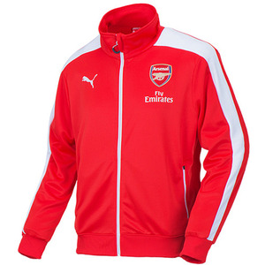 14-15 Arsenal(AFC) T7 Anthem Jacket - Red