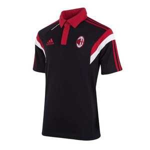 [Order] 14-15 AC Milan Training Polo - Black