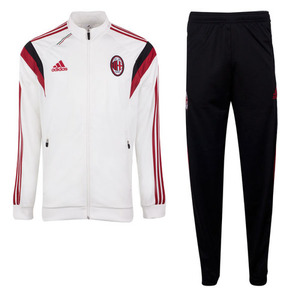 [Order] 14-15 AC Milan Training Presentation Suit - Running White/Black