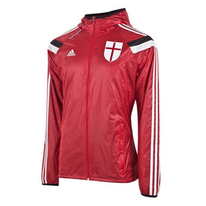 [Order] 14-15 AC Milan Home Anthem Jacket - Victory Red