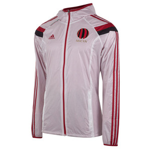 [Order] 14-15 AC Milan  Away Anthem Jacket - Running White