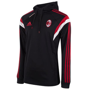 [Order] 14-15 AC Milan Training Hoody Sweat Top - Black