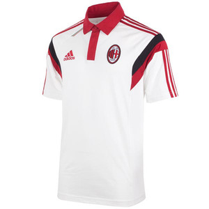 [Order] 14-15 AC Milan Training Polo - White